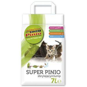 żwirek super pinio kruszon naturalny - żwirek dla kota drewniany zbrylający 35l marki Certech