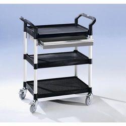 Seco Wózek uniwersalny z szufladami, dł. x szer. x wys. 850x480x1000 mm, 1 szuflada,