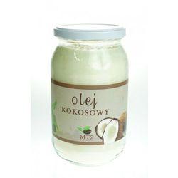 Olej kokosowy rafinowany bezzapachowy 900ml MTS - produkt z kategorii- Zdrowa żywność
