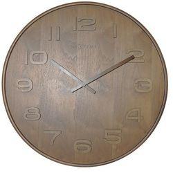 Zegar ścienny wood wood big brown by marki Nextime