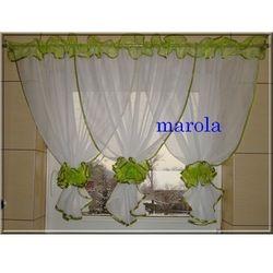 Marola 88 - nowa urocza firanka z kokonami, kolory
