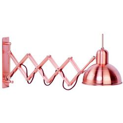 It's About RoMi Wall lamp iron Aberdeen h.27cm/l.60-85cm, copper ABERDEEN/W/CO - sprawdź w wybranym sklepie