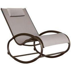 Fotel bujany, Szary WAVER1, towar z kategorii: Krzesła ogrodowe