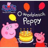 Świnka Peppa Opowieści na dobranoc O urodzinach Peppy - Praca zbiorowa (9788379945009)