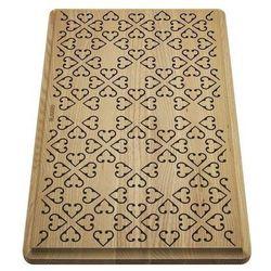 Blanco deska drewniana jesion z ornamentem, 465x285, [faron xl 6 s] (4020684710985)
