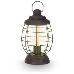 Stojąca LAMPKA stołowa BAMPTON 49288 Eglo druciana OPRAWA industrialna drut antyczny brąz - produkt z kateg