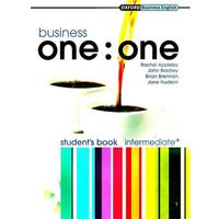 Business One-to-One Intermediate Students Book and MultiROM Pack, oprawa miękka