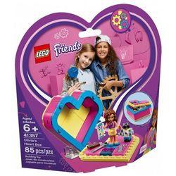 Lego Klocki friends pudełko w kształcie serca olivii