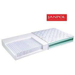 JANPOL ODYS - materac multipocket, sprężynowy, Rozmiar - 140x190, Pokrowiec - Medicott Silverguard WYPRZEDA�