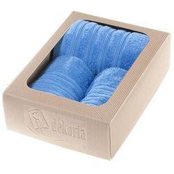 Dekoria Komplet ręczników Aveiro niebieski, komplet