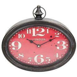 Dekoria zegar ścienny the new era ii 28x27cm, 28x6,5x27cm