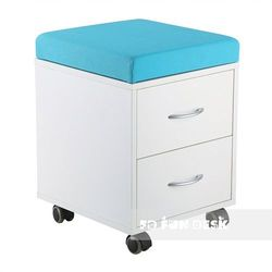 SS15W Blue - Funkcjonalny kontener na kółkach - FunDesk - Szkolna Promocja!, FunDesk