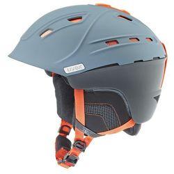 Kask narciarski  p2us szaro/pomarańczowy l (59-61cm) wyprodukowany przez Uvex