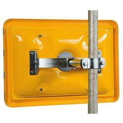 Unbekannt Przystawka do montażu na słupku, z opaską do Ø rurki 50 - 85 mm, możliwość ustaw