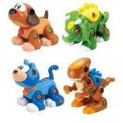 Rozkręcone zwierzaki 2w1, różne rodzaje DUMEL - produkt z kategorii- Maskotki interaktywne