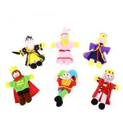 Bigjigs toys Królewski zestaw - pacynki, kategoria: pacynki i kukiełki