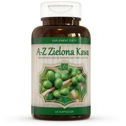 A-Z Zielona kawa 400mg 60 kaps. - kapsułki tabletki na odchudzanie