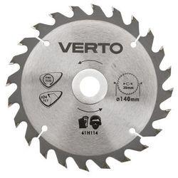 Tarcza do cięcia VERTO 61H124 190 x 30 mm do pilarki widiowa z kategorii tarcze do cięcia