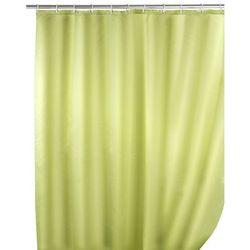 Zasłona prysznicowa, tekstylna, kolor jasnozielony, 180x200 cm, WENKO (4008838120491)