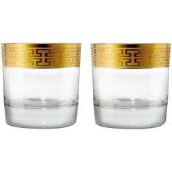 Zwiesel 1872 Hommage Gold Szklanki do Whisky 397ml Kpl 2szt, 120624