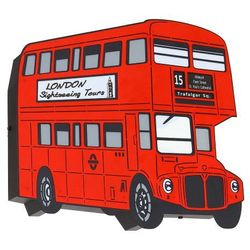 Arlet Bus Dziecięca Aldex 821S7 41cm czerwony