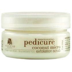 coconut micro exfoliation scrub mikro złuszczający peeling kokosowy do stóp (56 g.) od producenta Cuccio
