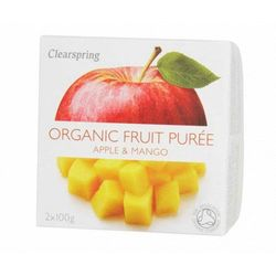 Clearspring Deser jabłko-mango bio 200g