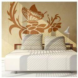 Deco-strefa – dekoracje w dobrym stylu Kwiaty motyl 903 szablon malarski