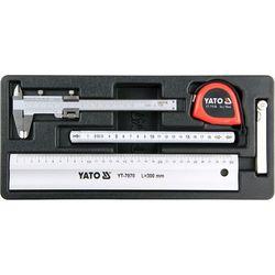 Yato Wkład do szuflady narzędzia miernicze 5cz. / yt-55474 / - zyskaj rabat 30 zł (5906083554742)