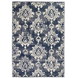 Nowoczesny dywan, wzór paisley, 120 x 170 cm, beżowo-niebieski marki Vidaxl