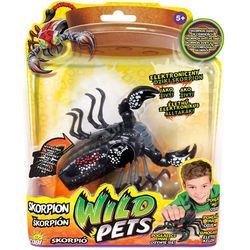 Wild Pets, Interaktywny skorpion Stangback, czarno-szary