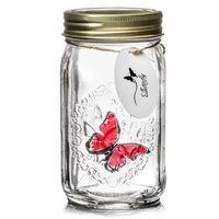 Motyl w słoiku - różowy morpho - różowy morpho marki Gadget master