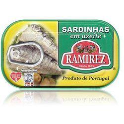 Sardynki portugalskie w oliwie z oliwek Ramirez 125g - sprawdź w wybranym sklepie