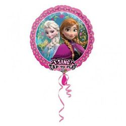 Balon foliowy grający Frozen Feever - 71 cm - 1 szt.