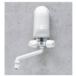 DAFI Nadumywalkowy elektryczny przepływowy podgrzewacz wody IPX5 3,7kW z białą baterią - oferta (1567d2a6afb3b59b)