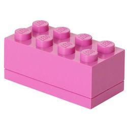 Mini pojemnik lego 8 różowy- lego pojemniki marki Room copenhagen