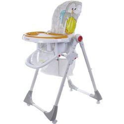 Sun baby Krzesełko do karmienia comfort lux szare  bch202c/sz