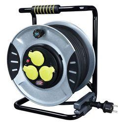 Przedłużacz bębnowy Diall metalowy 3 x 1,5 mm 40 m