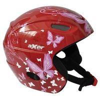 Axer sport Kask narciarski  alison czerwony (rozmiar l)