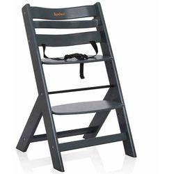 Baninni Wysokie krzesełko Scala, ciemnoszare, BNDT004-DGY (5420038784195)