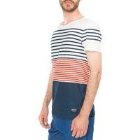 Tom Tailor T-shirt Niebieski Czerwony Biały XL, 1 rozmiar