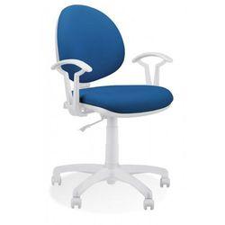 Krzesło obrotowe SMART white gtp27 ts02 - biurowe, fotel biurowy, obrotowy, SMART white GTP27 ts02