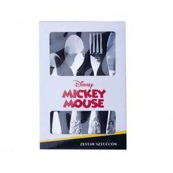 DISNEY DISNEY Komplet 4 sztućców dla dzieci Mickey Everywhere 72560