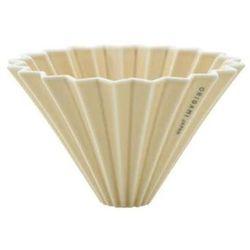 Origami dripper m beżowy - matowy (4536058764923)