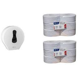 Pojemnik na papier toaletowy Merida ONE za 1 zł netto przy zakupie 2 zgrzewek papieru toaletowego Merida ONE TOP