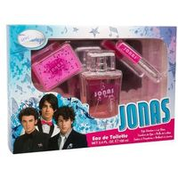 Disney Jonas U Zestaw perfum Edt 100 ml + Cień do powiek 2,55 g + Błyszczyk do ust 2 ml