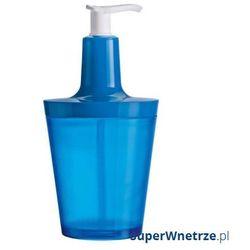 Koziol Dozownik do mydła flow niebieski