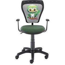 Nowy styl Obrotowe krzesło dziecięce z sową na oparciu ministyle