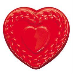 Forma do pieczenia ciast silikonowa Pavonidea serce z warkoczem FRT184RSAS