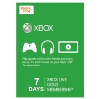 Xbox Live Gold 7 dni subskrypcja